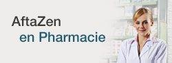 traitement des aphtes, aftazen en pharmacie